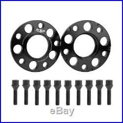 15mm 4PCS Wheel Spacers 5x120 72.56mm for BMW E36 E46 E90 E91 M3 E60 +20pc BOLTS