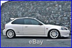 16X7 +45 ROTA R-SPEC 4X100 WHITE WHEELS Fits MIATA MX3 CIVIC SI EG6 EK9 INTEGRA