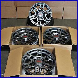 17x8 SEMA Pro Style Gunmetal Wheels Fits Toyota Tacoma FJ Cruiser 4Runner