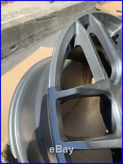 18x8 +35 AodHan LS002 5X120 Matte Gun Metal Wheels Rims (Used Set)