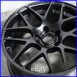 18x9.5 Black Wheels Concave fit P40 5x120 38 (Set of 4)