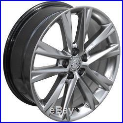 19 Hyper Silver RX350 F Sport Wheels 19x7.5 SET Fits Lexus CP