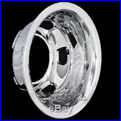 1 REAR 2003-18 DODGE RAM 3500 17 Chrome Dual Wheel Simulators Dually Rim Cover
