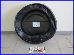 2007-2016 Jeep Wrangler Hard Shell Molded Spare Tire Cover Mopar OEM