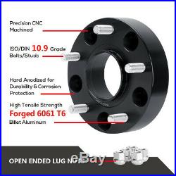 2012-2018 Dodge Ram 1500 5x5.5 Hub Centric Wheel Spacers 1.5 Inch 14X1.5 Studs