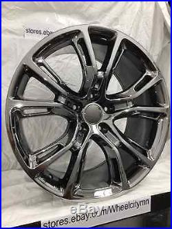 Rims And Tires Canada >> 20 inch black chrome PVD 2014 2015 Jeep Grand Cherokee SRT ...