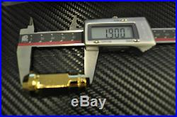 24k GOLD Chrome STEEL JDM LUG NUTS 12x1.5 civic crx eg ek dc2