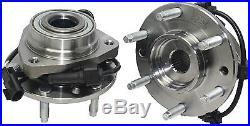 (2) Front Wheel Bearing Hub GMC Envoy 2002 2003 2004 2005 2006 2007 2008 2009