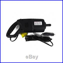 2 Ton Electric Scissor Car Lift Jack Wrench 12V Cigarette Adapter