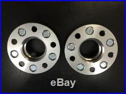 2pc 20mm Thick Wheel Spacers 5x114.3 Hubcentric 60.1 Hub 12x1.5 Stud Toyota