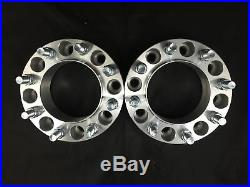 2pc Hubcentric 8x6.5 Wheel Spacers 9/16 1.5 38mm 8 Lug Adapter 8x165.1
