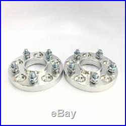 2pc Hubcentric Wheel Spacers Adapters 5X114.3 (5X4.5) 64.1 CB 20mm Thick