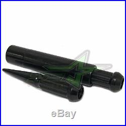 32 9/16-18 Black Spike Lug Nuts For Dodge Ram 2500 3500 Ford F250 F350 Trucks