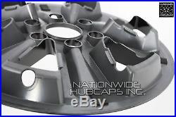 4 Black 2015-2018 Ford F150 XLT 17 Alloy Wheel Skins Full Rim Covers Hub Caps