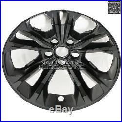 4 Black 2017 18 19 Ford Escape SE 17 Wheel Skins Hub Caps Alloy Rim Full Covers