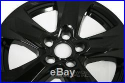 4 Black 2019 2020 Toyota RAV4 XLE 17 Wheel Skins Hub Caps Full Rim Skin Covers