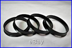 (4) Hub Centric Rings 73.1mm (Wheel) to 67.1mm (Hub) Hubcentric Center Ring