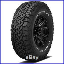 4- LT265/70R17 BF Goodrich All Terrain T/A KO2 121S E/10 Ply White Letter Tires