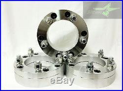 4 Wheel Adapters 6x5.5 To 5x5.5 Use 5 Lug Wheels On 6 Lug Car 2 Inch Thick