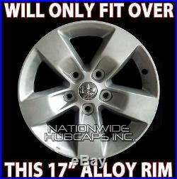 4 fits Dodge Ram 1500 Truck 17 Chrome Wheel Skins Hub Caps 5 Spoke Rim Covers