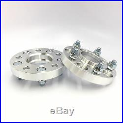 4x Hubcentric Wheel Adapters 5x120 to 5x114.3 12x1.5 studs 20mm 0.79 Inch