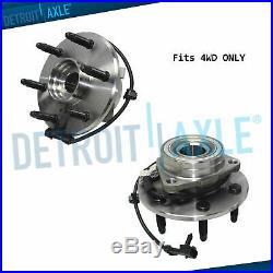 515036 2 Front Wheel Hub Bearings for 00-06 Chevy Silverado GMC Sierra 1500 4WD