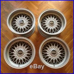 BBS RZ394 8.5x16 wheels rims EURO rare BMW E30 M3 M5 E9 E12 E24 E28 E31 E34 E36