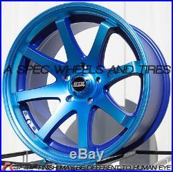 Hyundai Veloster Tires >> BLUE STR 522 17X9 +20 5X114.3 RIMS FIT TC XB TSX RSX MR2 ...