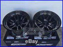 Cosmis Racing Blackchrome Xt 206r 18 215 9 5 10mm 5 215 114 3 Set