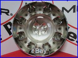 DODGE Ram 3500 Dually Chrome Front Center Hub Cap Wheel Cover NEW OEM MOPAR