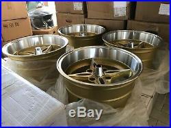For AE86 Datsun ta22 240z S30 s130 JDM retro riverge Style 15 114.3x4 wheels