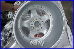 For CL1 240sx 180sx rx7 fd3s z16a dc5 JDM 17 114.3X5 5spoke style wheels rim