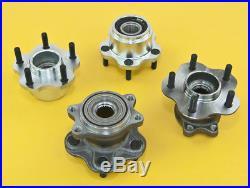 Front & Rear 5-Lug Conversion Hub 4x114.3 5x114.3 For Silvia 89-94 S13