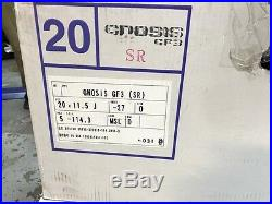 JDM 20 WORK GNOSIS GF3 DEEP DISH RIMS WHEELS 9.5 11.5 5x114.3 GS400 M45 G35 Z34