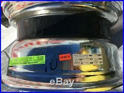 New Dayton Wire Wheels 16 x 8 Chrome, Reverse Offset, 100 Spoke, Set of 4