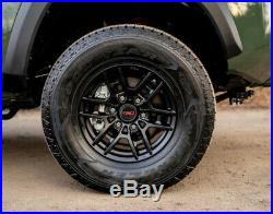 Toyota Tacoma 1995-2020 4x4 & PreRunner TRD Pro 16 Black Rims Set OEM NEW
